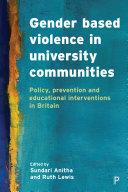 Gender based violence in university communities