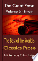 The Best Of The World S Classics Prose Volume 6
