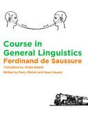 Course in General Linguistics Pdf/ePub eBook
