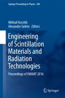Engineering of Scintillation Materials and Radiation Technologies Pdf/ePub eBook