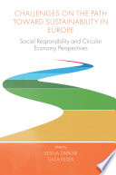 Challenges On the Path Towards Sustainability in Europe Book