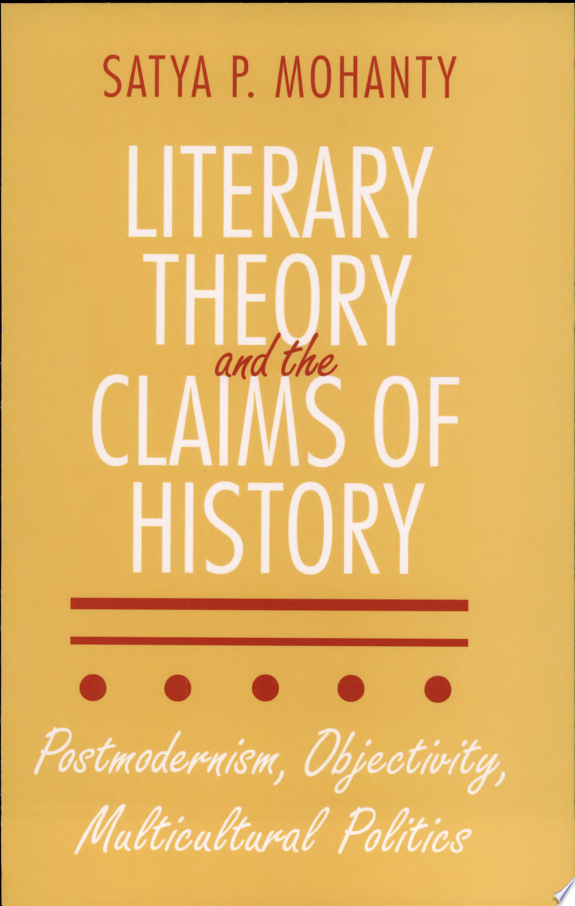 Literary Theory and the Claims of History