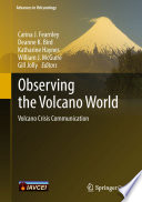 Observing The Volcano World Book PDF