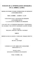 The Role of Geographical Research in Latin America