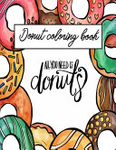 Donut Coloring Book