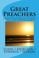 Great Preachers Book