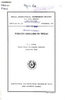 Tomato Diseases in Texas