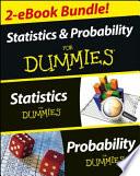 Statistics I & II For Dummies 2 EBook Bundle
