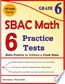 6 SBAC Math Practice Tests Grade 6
