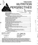 Nutrition Perspectives