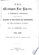 The Daily Washington Law Reporter