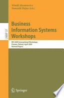 Business Information Systems Workshops Book
