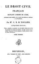 Le droit civil français