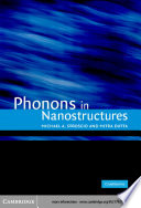 Phonons In Nanostructures Book PDF