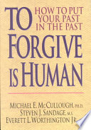 To Forgive Is Human