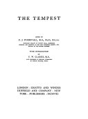 The Old spelling Shakespeare  The tempest