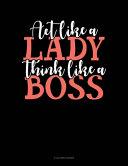 Act Like A Lady Think Like A Boss Book PDF
