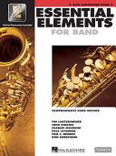 Essential elements 2000  E    alto saxophone