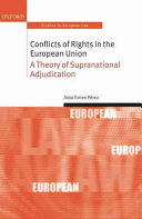 Conflicts of Rights in the European Union