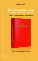 Approche méthodologique du droit constitutionnel