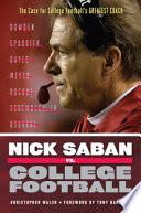 Nick Saban vs. College Football
