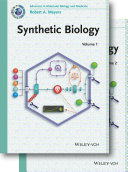 Synthetic Biology  2 Volume Set