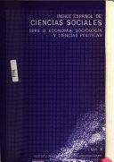 Indice español de ciencias sociales
