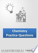 Inorganic and Organic Chemistry Multiple Choice Practice Questions  189 Pages