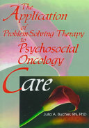 The Application of Problem-Solving Therapy to Psychosocial ...