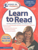 Hooked On Phonics Learn To Read Levels 1 2 Complete
