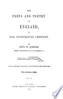 The Poets and Poetry of England in the Nineteenth Century