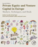 Private Equity and Venture Capital in Europe