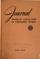 Journal of the American Association of University Women