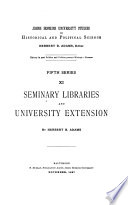 Seminary Libraries and University Extension