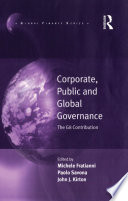 Corporate Public And Global Governance