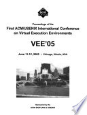Proceedings of the ... ACM/USENIX International Conference on Virtual Execution Environments