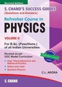 Refresher Course in B.Sc.Physics ( Vol . II) Book