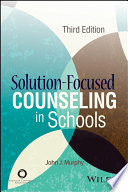 Solution Focused Counseling in Schools Book
