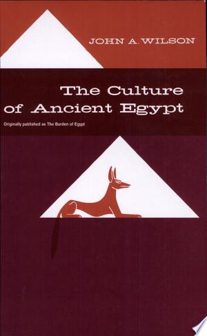 Download The Culture of Ancient Egypt Free Books - Get Bestseller Books For Free