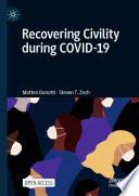 Öffnen Sie das Medium Recovering civility during COVID-19 von Bonotti, Matteo im Bibliothekskatalog