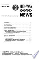 Highway Research News