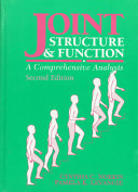 Cover of Joint Structure & Function
