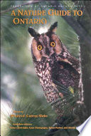 A Nature Guide to Ontario Book