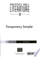 Prentice Hall Literature: . Transparency sampler