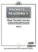 Phonics and reading 1 for Christian Schools