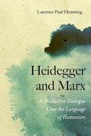 Heidegger and Marx