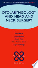Otolaryngology and Head and Neck Surgery Book