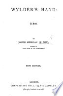 Wylder s Hand  a novel