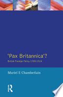 Pax Britannica  Book