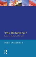 Pax Britannica? Pdf/ePub eBook